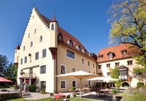 Das Schloss zu Hopferau