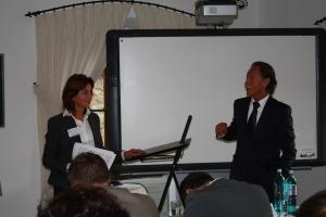 Dr. Cristina Barth Frazetta und Prof. Dr. Alfred Wolf